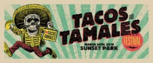 poster for taco festival