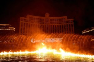 flamed fountains