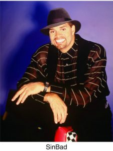 comedian in hat